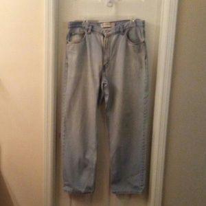 Levi's Men 550 Relaxed Lt Blue Jeans 36x30